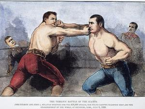 Sullivan and Kilrain Fight