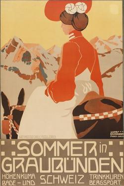 Summer in Graubünden, 1905