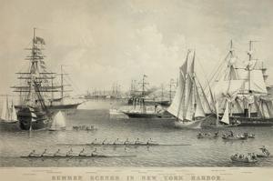 Summer Scenes in New York Harbor