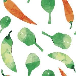 Vegetable Pattern 2 by Summer Tali Hilty