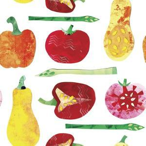 Vegetable Pattern 4 by Summer Tali Hilty
