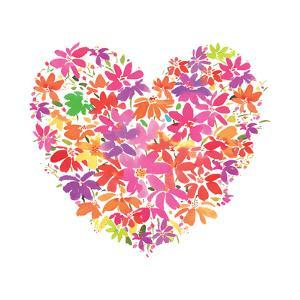 Floral Heart by Summer Thornton