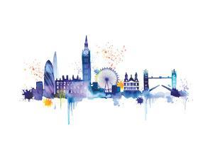 London Skyline by Summer Thornton