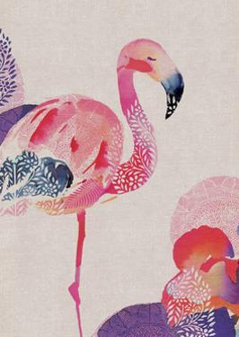 Tropical Flamingo by Summer Thornton