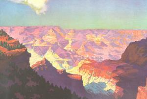 Sun on the Grand Canyon