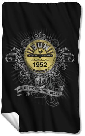 Sun - Rockin Scrolls Fleece Blanket
