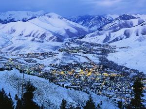 Sun Valley and Ketchum in Winter