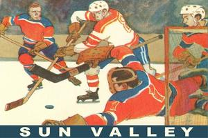 Sun Valley, Hockey Game