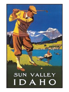 Sun Valley, Idaho, Golfing in Mountains