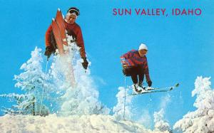 Sun Valley, Idaho, Skiing Moguls