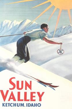 Sun Valley Travel Poster
