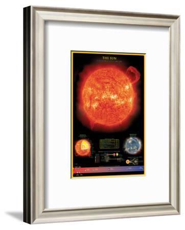 Sun--Framed Art Print