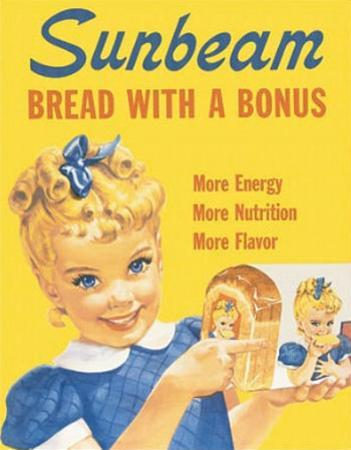 Sunbeam Bread Little Miss Sunbeam