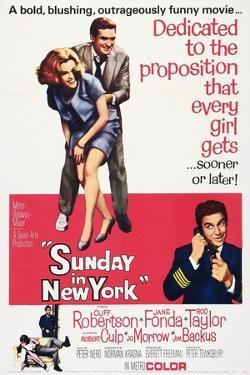 Sunday in New York, 1963