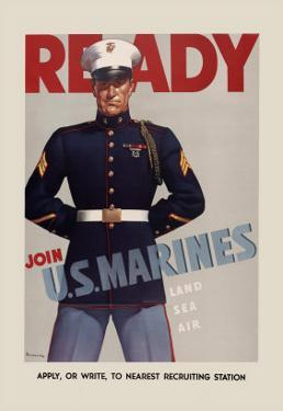 Join U.S. Marines by Sundblom