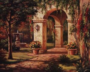Arch Courtyard I by Sung Kim