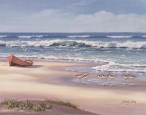 Sandpiper March II by Sung Kim