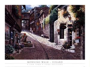 Morning Walk-Dinard by Sung Sam Park