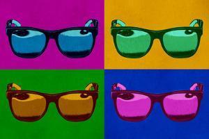 Sunglasses Pop Art Poster