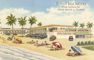 Sunny Isle Motel, Miami Beach, Florida