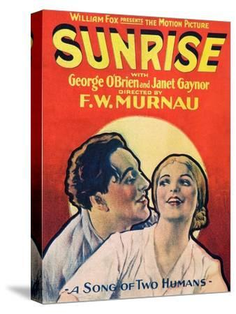 SUNRISE (aka SUNRISE: A SONG OF TWO HUMANS); from left: George O'Brien