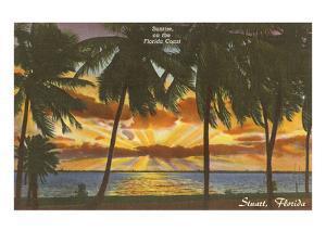 Sunrise at Stuart, Florida