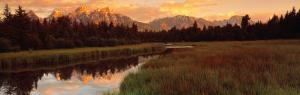Sunrise Grand Teton National Park, Wyoming, USA