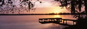 Sunrise, Lake Whippoorwill, Koa Campground, Orlando, Florida, USA