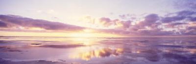 Sunrise on Beach, North Sea, Germany
