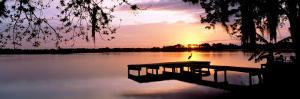 Sunrise Over Lake Whippoorwill, Orlando, Florida, USA