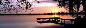 Sunrise Over Lake Whippoorwill, Orlando, Florida, USA