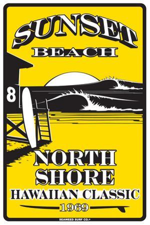 Sunset Beach North Shore Hawaiian Classic 1969