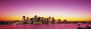 Sunset, Boston, Massachusetts, USA