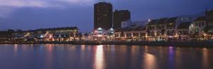 Sunset, Clarke Quay, Singapore River, Singapore