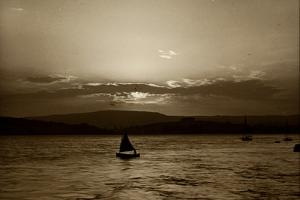 Sunset, Exmouth, 1911