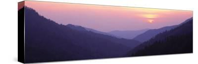 Sunset, Great Smoky Mountains National Park, Tennessee, USA