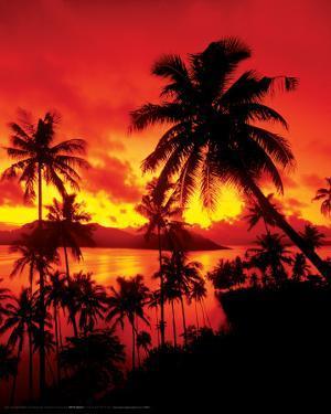 Sunset - In Fiji