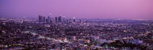 Sunset, Los Angeles, California, USA