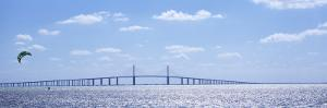 Sunshine Skyway Bridge, Tampa Bay, Florida, USA