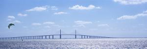 Sunshine Skyway Bridge, Tampa Bay, Florida, USA