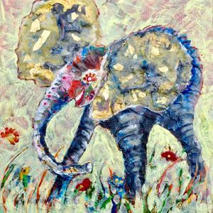 Baby Elephant 2 by Sunshine Taylor