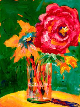 Big Red Flower by Sunshine Taylor