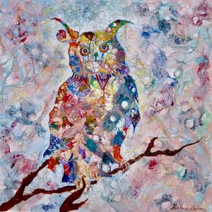 Horned Owl by Sunshine Taylor