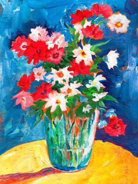 Large Flower Vase by Sunshine Taylor