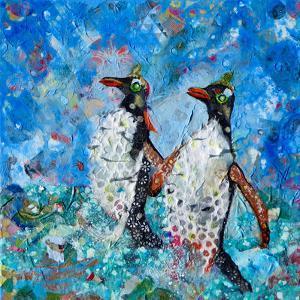 Penguins by Sunshine Taylor