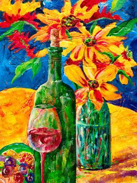 Wine And Flowers by Sunshine Taylor