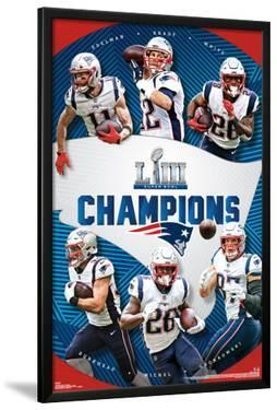 Super Bowl LIII - Champions New England Patriots