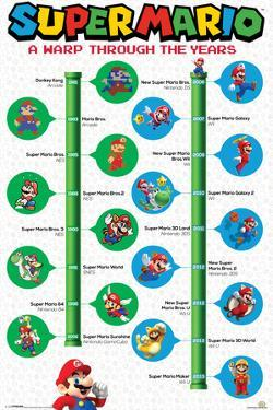 Super Mario- A Warp Through The Years