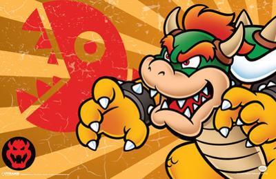 Super Mario - Bowser Stripes