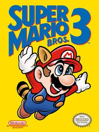 Super Mario Bros. 3 - Cover